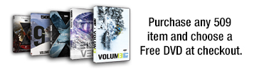Free DVD with the purchase of any 509 item.