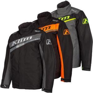 Klim Men's Kaos Jacket - Asphalt, Orange, or Hi-Vis