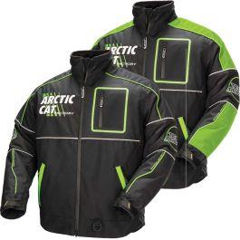 Green Black Orange Arctic Cat Men/'s Team Pro 100g Insulated Snowmobile Jacket