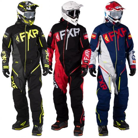 FXR Men's Ranger Instinct Lite Monosuit - Black, Red, or Blue