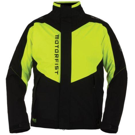 Motorfist Men's Clutch Jacket - Black & Hi-Vis