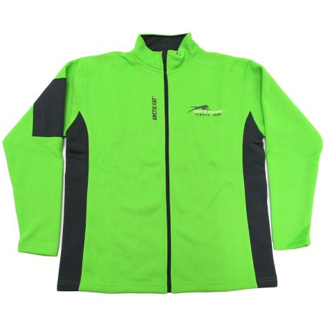 Arctic Cat Riders Club Cat's Pride Men's Jacket - Green & Black