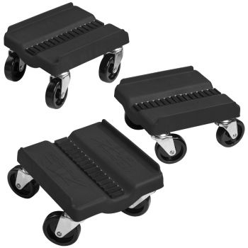 Caliber 13579 CHARCOAL Snowmobile Sled Wheels Dolly Sled Mover New Dollies
