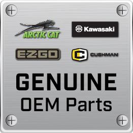E-Z-GO 215/40-12 Backlash Tires with Chrome Spartan SS 12x7 Rims