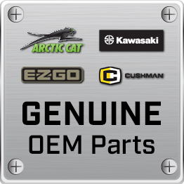 E-Z-GO 8.5-ft x 5-ft Parking Mat with Logo - Grey