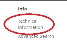 Technical Information Link