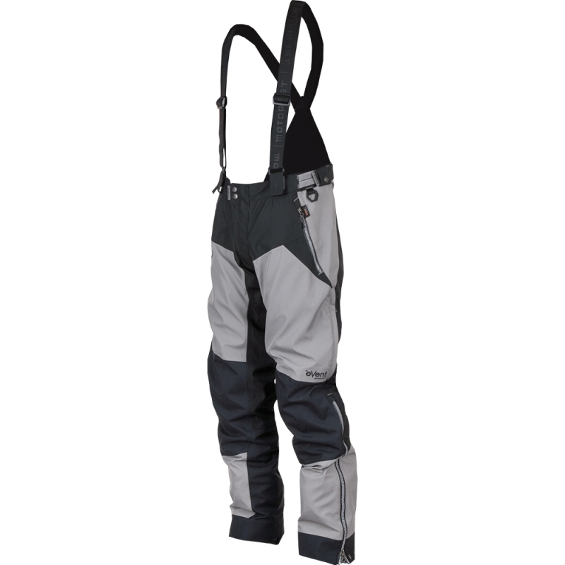 Motorfist Men's Freeride Snowmobile Pants Uninsulated eVent Fabrics Hi-Vis Gray