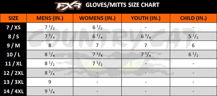 FXR Men/'s Backshift Gloves Triple Chamber Technology Black 190802-1000-/_/_