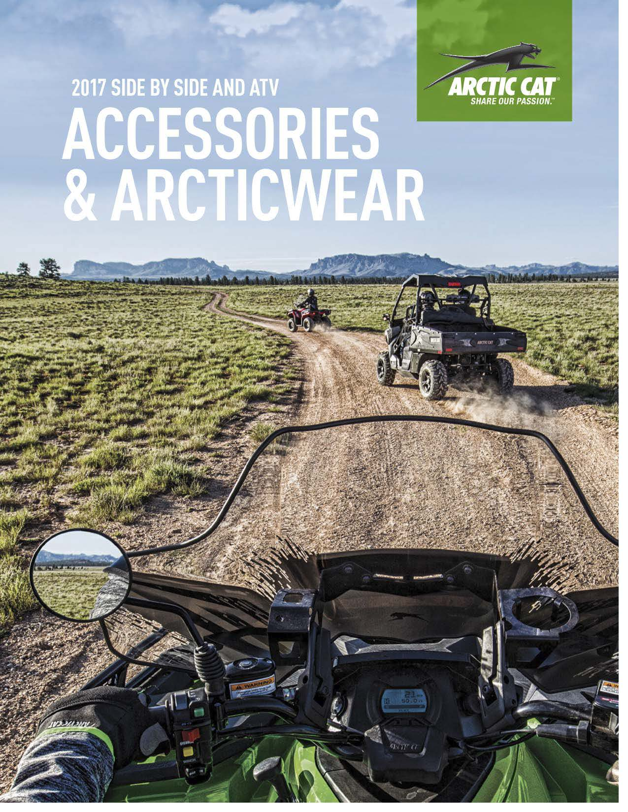 2017 Arctic Cat Dirt Catalog