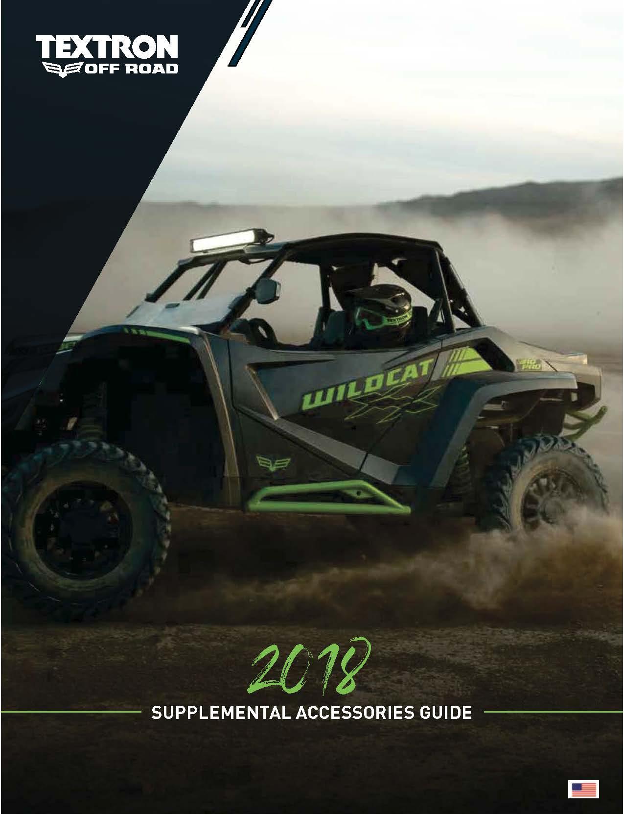 2018 Textron off Road Supplement Catalog