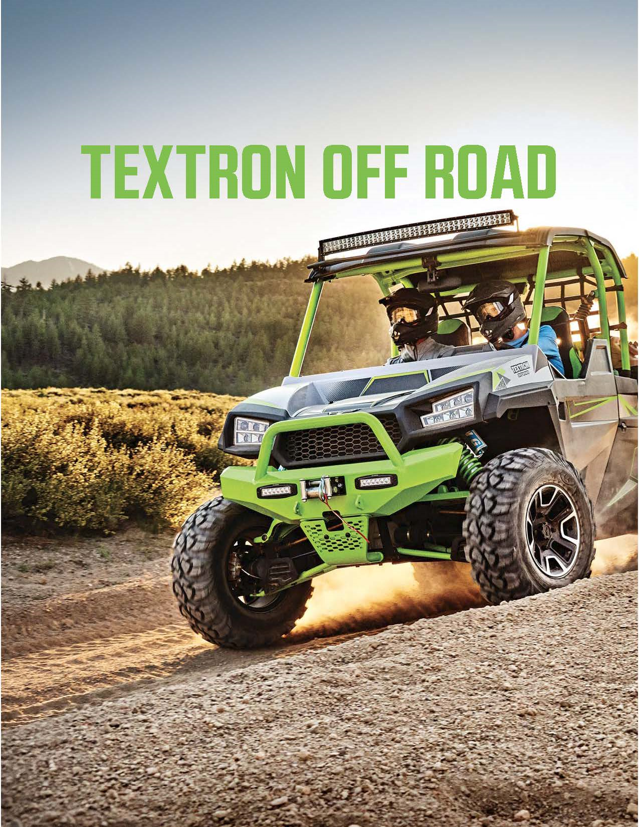 2018 Textron off Road Accessory Catalog Cover